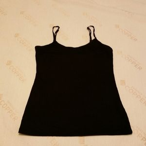 Smart Set Black Tank Top Size S